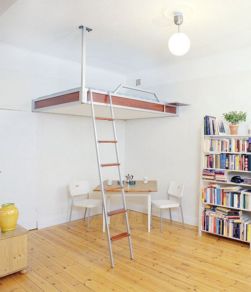 Small Homes That Use Lofts To Gain More Floor Space: How To Maximise Small Spaces